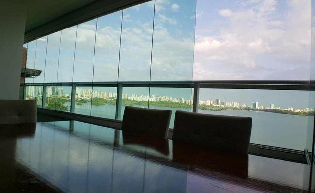 GM - Apartamento vista lagoa + 3 quartos - Foto 4