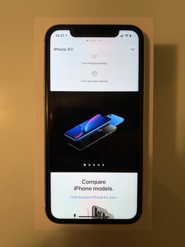 Apple iPhone XR 128 GB Branco na garantia - Foto 2