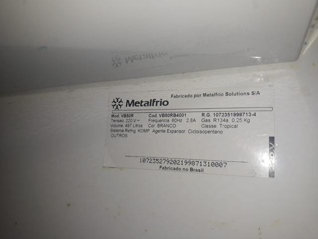Freezer metalfrio vb50r