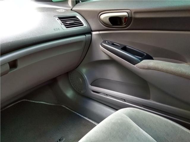 Honda Civic 1.8 lxs 16v flex 4p manual - Foto 12