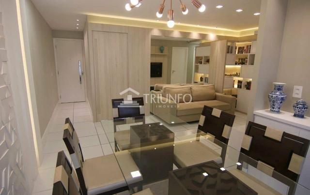 GM - Apartamento todo Projetado/ 3 quartos / varanda - Foto 2