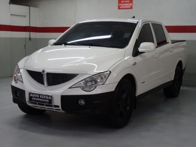 SSANGYONG ACTYON SPORTS 2010/2010 2.0 GLX 4X4 CD 16V TURBO INTERCOOLER DIESEL 4P AUTOMÁTI
