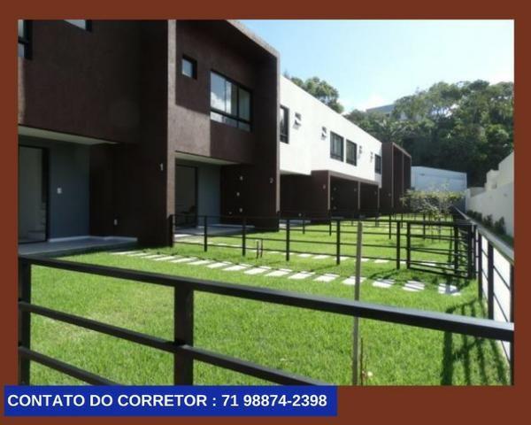 Casa em Patamares Casa com 3 quartos - Dependência - Suíte em 129m² com 2 Vagas, - Foto 3