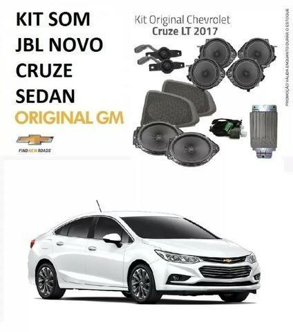 Kit Som Jbl Car Experience Novo Cruze Lt 2017- 52103517