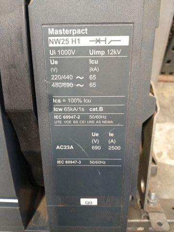 Disjuntor Nw25 H1 2500a Extraível Schneider / Merlin Gerin - Foto 2