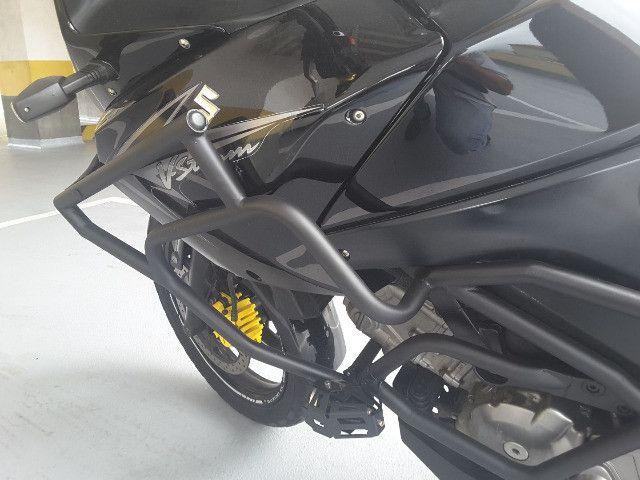 Suzuki Vstrom DL 650 Ano 2011 - Novíssima e Revisada - Foto 9