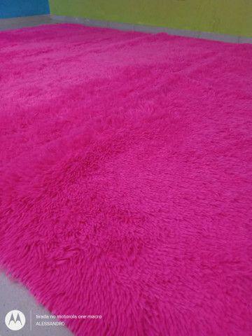 Tapetes o Grande vermelho e pink  - Foto 2