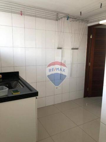 Apartamento com 3 dormitórios para alugar, 122 m² por R$ 2.400,00/mês - Manaíra - João Pes - Foto 15