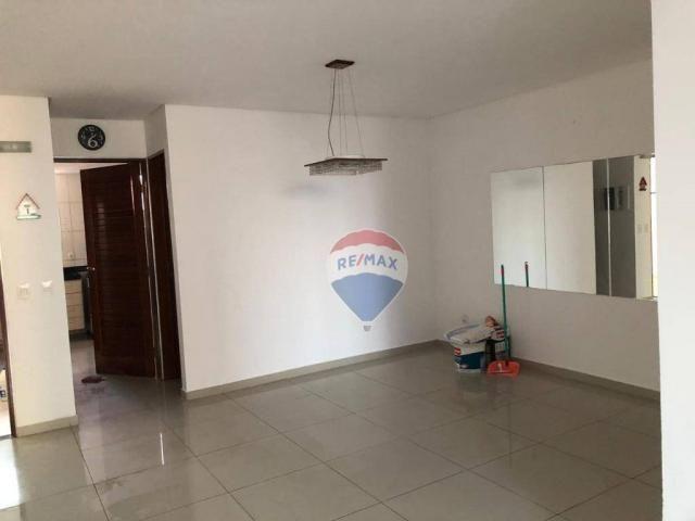 Apartamento com 3 dormitórios para alugar, 122 m² por R$ 2.400,00/mês - Manaíra - João Pes - Foto 3