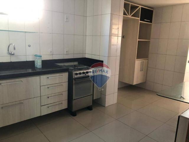 Apartamento com 3 dormitórios para alugar, 122 m² por R$ 2.400,00/mês - Manaíra - João Pes - Foto 13