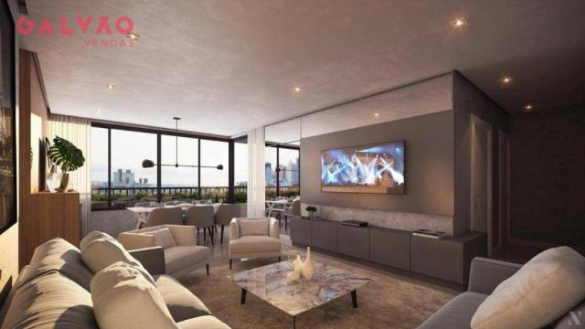 Apartamento com 2 dormitórios à venda, 88 m² por R$ 642.425,79 - Alto da Rua XV - Curitiba - Foto 12