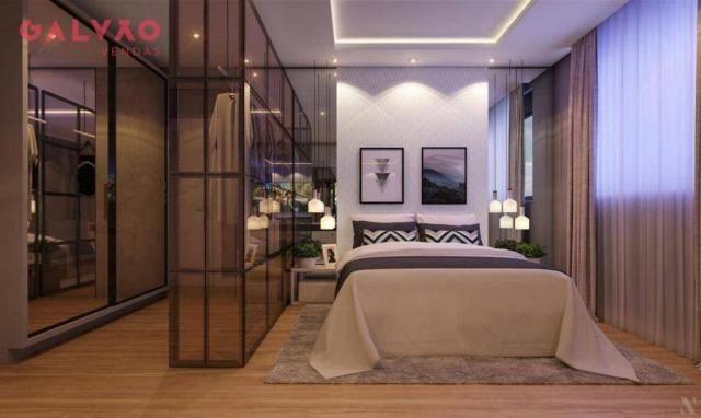 Apartamento com 2 dormitórios à venda, 88 m² por R$ 642.425,79 - Alto da Rua XV - Curitiba