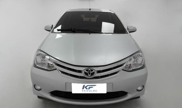 Toyota Etios XLS 1.5 Prata 2014 Completo - Foto 2