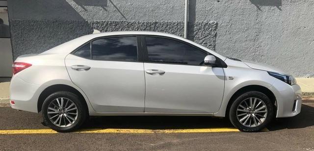 Vende-se Corolla 2016, Automático Prata GLI 1.8 com os Opcionais do XEI - Completo - Foto 5