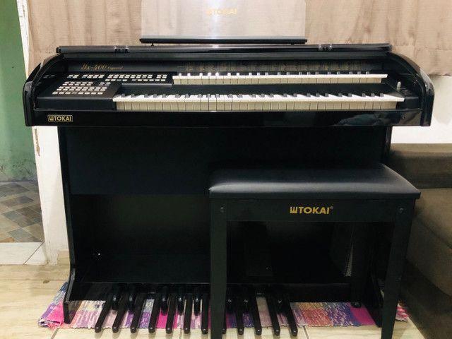 Órgão Tokai Organist yx400 Preto - Foto 3