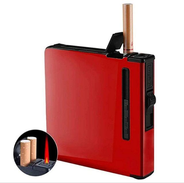 Caixa de Cigarro com isqueiro a Gás - Foto 2