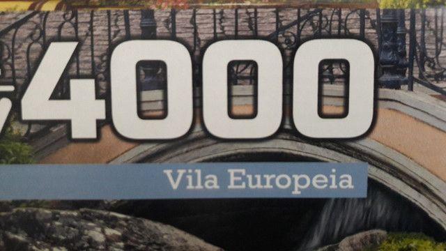 Quadro - Quebra-cabeça Vila Europeia para fazer quadro - Foto 5