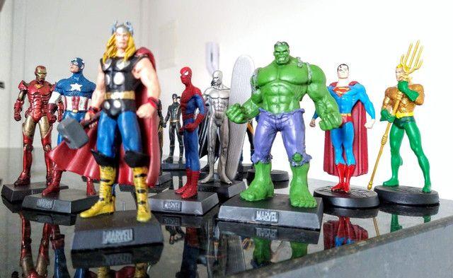Coleção miniaturas de heróis (14 peças) - Foto 2