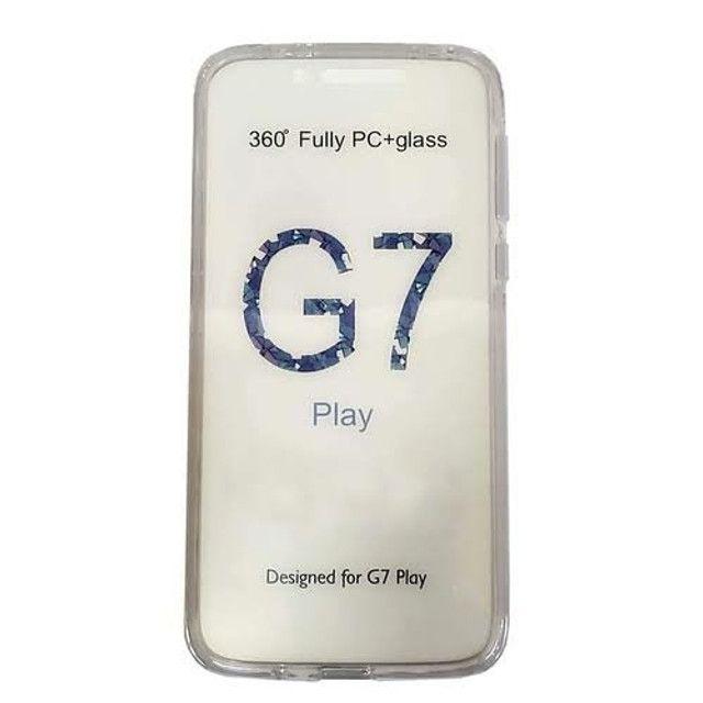 Capa anti shok silicone 360 moto g7 play