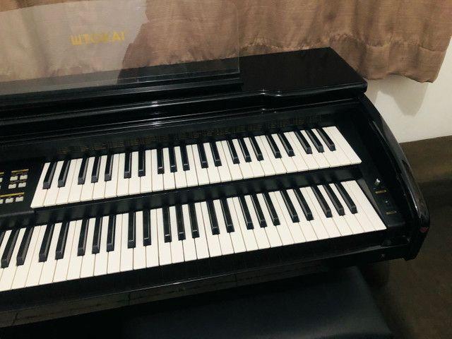 Órgão Tokai Organist yx400 Preto - Foto 5