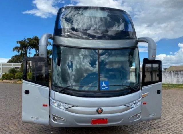 Ônibus Marcopolo DD Scania K 400 6x2 Único - Foto 3