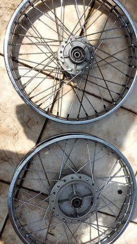 Par Aro/Roda - cg 150 - Foto 3