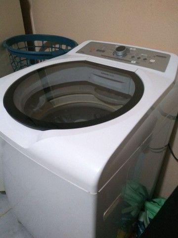 Vendo máquina de lavar roupa 15k impecável tudo ok não e de concerto ! - Foto 4
