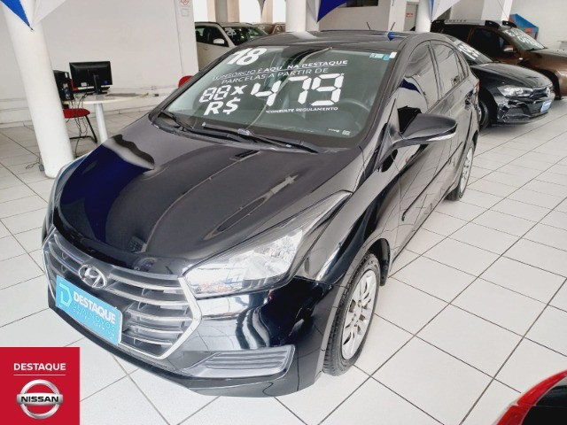 Hyundai HB20S 1.6 Automático 2018 Preto - Foto 3