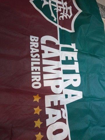 Bandeira  fluminense 1,30 x 88 - Foto 4