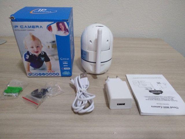 Câmera inteligente wifi ( novo na caixa) - Foto 2