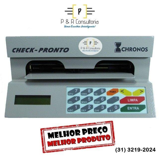 Máquina de Preencher Cheques Multi 31100, SemiNova. Completa. - Foto 2