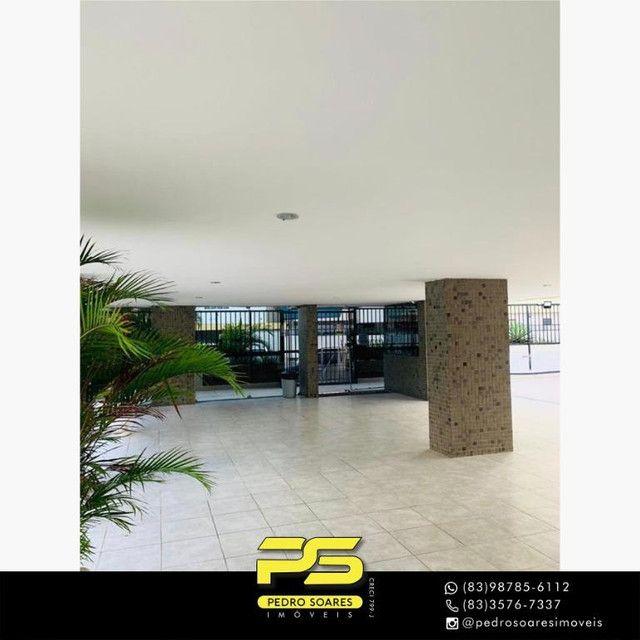 (MOBILIADO) Apartamento com 3 dormitórios para alugar, 166 m² por R$ 6.000/mês - Tambaú -  - Foto 11