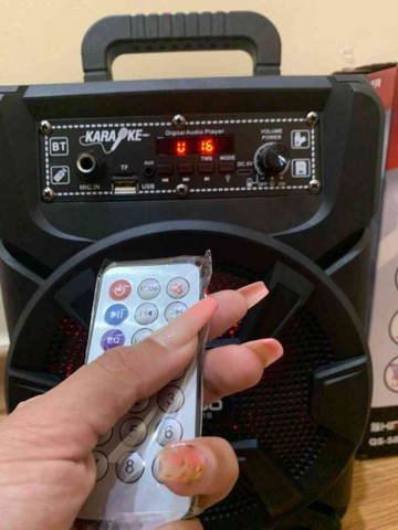 Caixa de som kimiso 1000w Bluetooth  - Foto 3