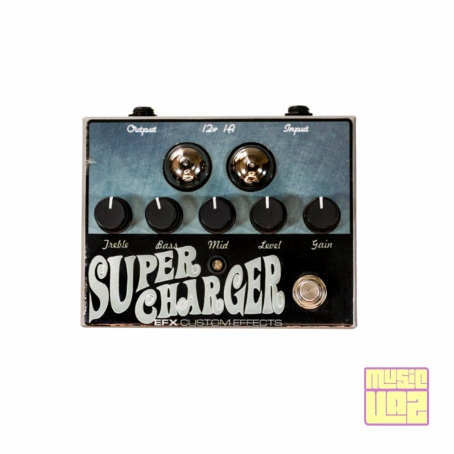 Pedal EFX Custom Effects Supercharger