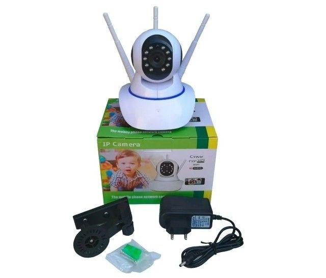 Câmera de Segurança Robo IP Wifi Inteligente ou Baba Eletronica - Foto 2