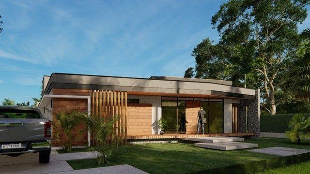 Moderna casa em condomínio fechado conceito inovador | Oficial Aldeia Imóveis  - Foto 3
