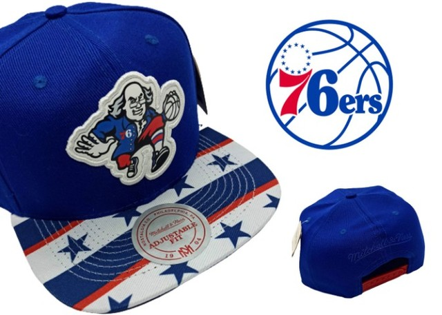 Bone Aba Reta Philadelphia 76ers Mitchell & Ness