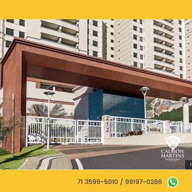 Apartamentos em 115m² com 3 suítes, 2 vagas, vista mar - Patamares  - Foto 3