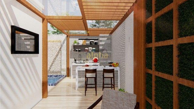 duplex para venda tem 168 metros quadrados com 3 quartos em Jacunda - Aquiraz - CE - Foto 10