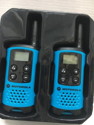 Par Radio Comunicador Motorola Talkabout T100 - Foto 2