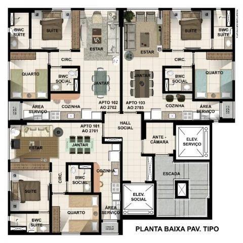 (L)Apartamento 2 quartos no Centro de Casa Amarela Confira, andar alto - Foto 16