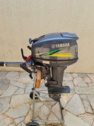 Motor de popa 15 hp yamanha