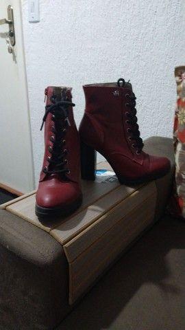 Casacos e bota usados em bom estado... - Foto 6