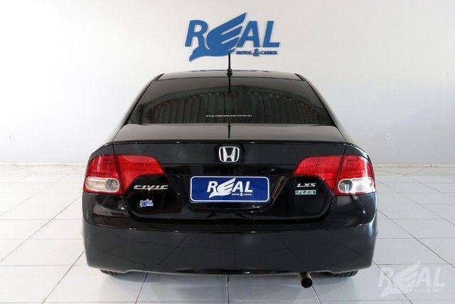 Honda Civic LXS 1.8 Automático Flex Financia Até 60X Com Apenas 5 Mil De Entrada - Foto 5