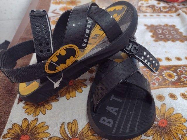 Sandália do Batman Nova! - Foto 2
