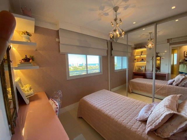 greenville etco 3 quartos Varanda Gourmet finamente decorado luxo Patamares - Foto 10