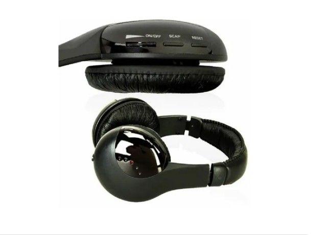 Earphone  5x1 Sem Fio Hi-fi Bluetooth Headphone, Tv, Rádio, novo na caixa e sem uso - Foto 5