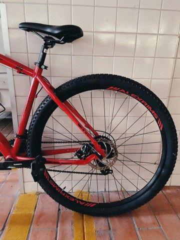 Imperdivel - Super bike Oggi Hacker - Novíssima - Foto 4