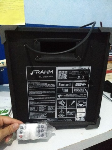 Caixa de som frahm Lc-250 - Foto 2