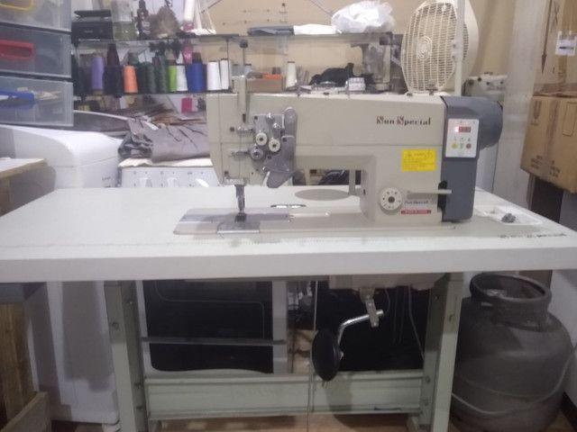 Máquina de costura prespontadeira